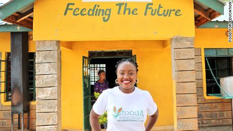 Wawira Njiru, founder of Food For Education